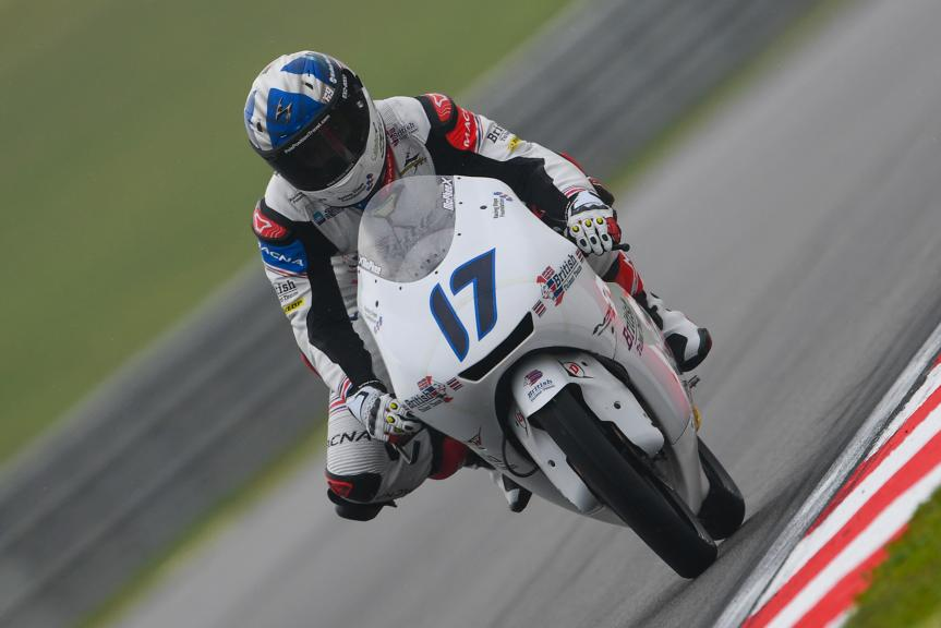 John Mcphee, British Talent Team, Shell Malaysia Motorcycle Grand Prix