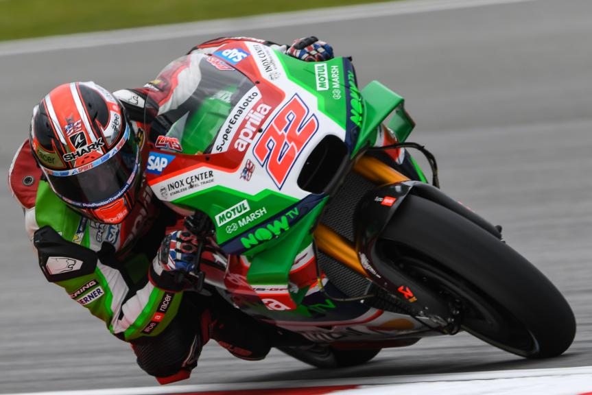 Sam Lowes, Aprilia Racing Team Gresini, Shell Malaysia Motorcycle Grand Prix