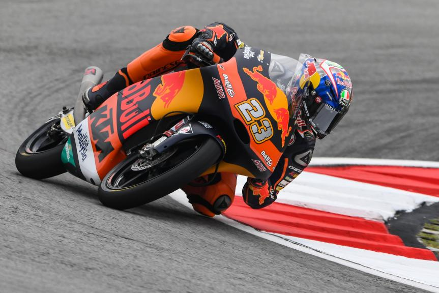 Niccolo Antonelli, Red Bull KTM Ajo, Shell Malaysia Motorcycle Grand Prix