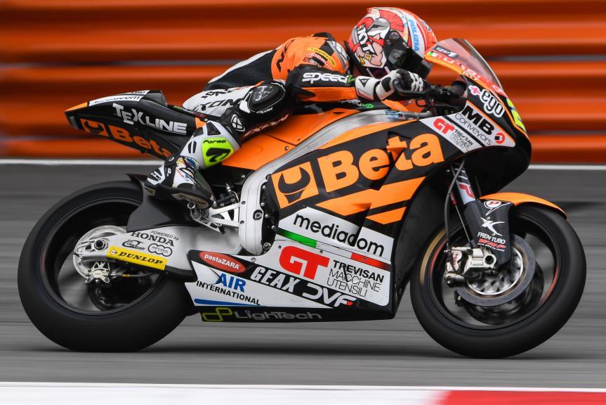 Simone Corsi, Speed Up Racing, Shell Malaysia Motorcycle Grand Prix