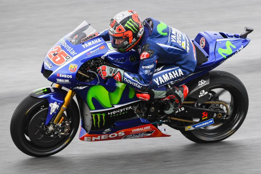 Maverick Viñales, Movistar Yamaha MotoGP, Shell Malaysia Motorcycle Grand Prix