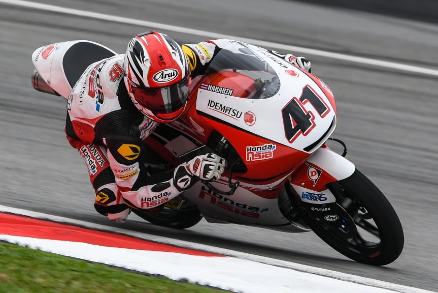Nakarin Atiratphuvapat, Honda Team Asia, Shell Malaysia Motorcycle Grand Prix