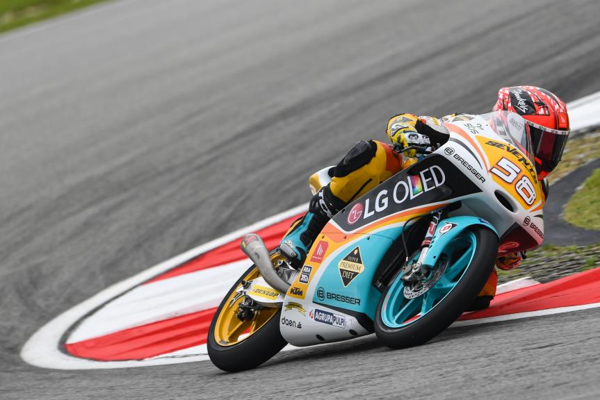 Juanfran Guevara, RBA BOE Racing Team, Shell Malaysia Motorcycle Grand Prix
