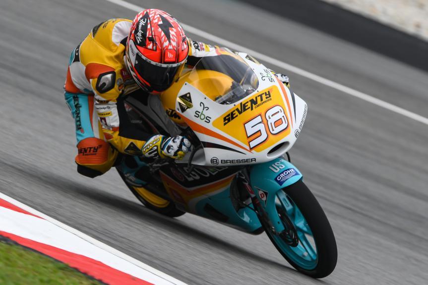 Juanfran Guevara, RBA BOE Racing Team, Shell Malaysia Motorcycle Grand Prix