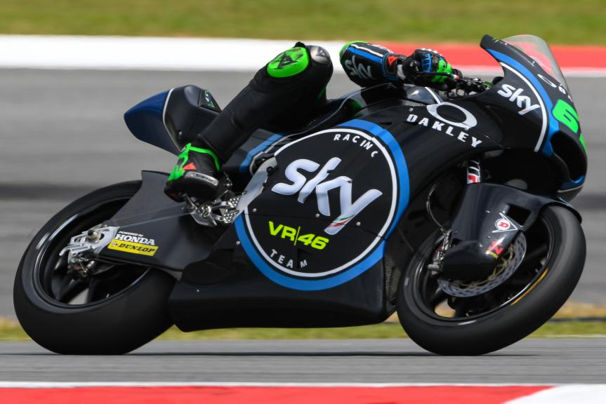 Stefano Manzi, Sky Racing Team VR46, Shell Malaysia Motorcycle Grand Prix