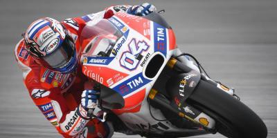 MotoGP™: Dovizioso dominiert bei jedem Wetter