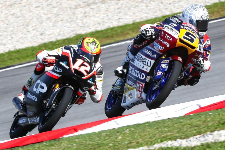 Romano Fenati, Marinelli Rivacold Snipers, Shell Malaysia Motorcycle Grand Prix