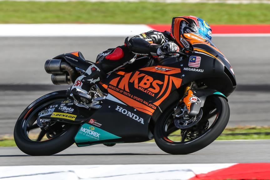 Adam Norrodin, SIC Racing Team, Shell Malaysia Motorcycle Grand Prix