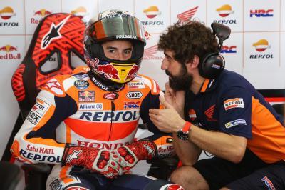Marquez in seventh: 'I struggled'