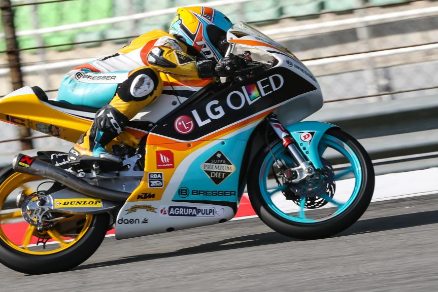 Gabriel Rodrigo, RBA BOE Racing Team, Shell Malaysia Motorcycle Grand Prix