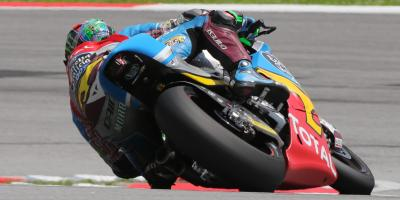 Moto2™: Morbidelli auf der Pole- Position in Sepang