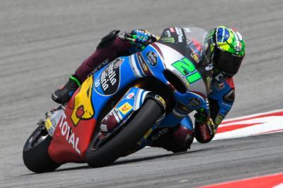 Morbidelli, Bagnaia, Oliveira fastest in FP3