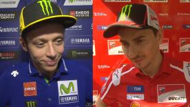 The  MotoGP™ riders give us feedback at the #MalaysianGP.