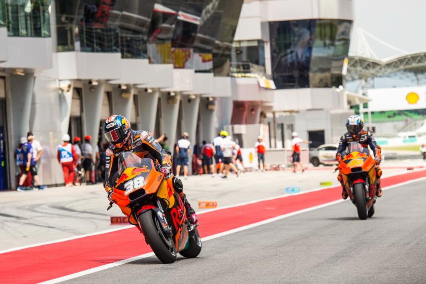 Bradley Smith, Pol Espargaro, Red Bull KTM Factory Racing, Shell Malaysia Motorcycle Grand Prix