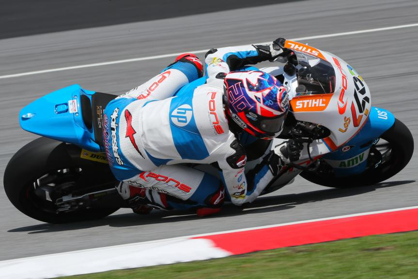 Fabio Quartararo, Pons HP40, Shell Malaysia Motorcycle Grand Prix