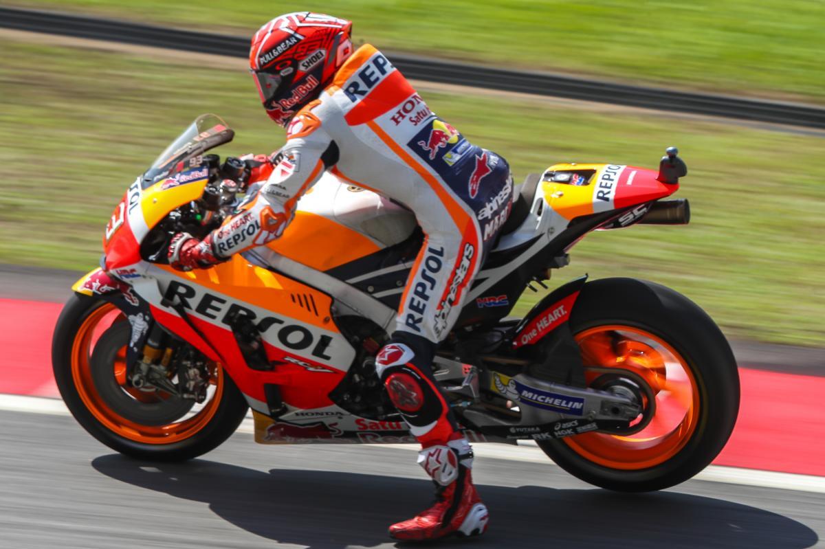 Marquez fastest in FP4 despite save of the century | MotoGP™