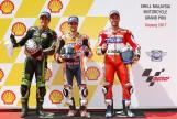 Dani Pedrosa, Johann Zarco, Andrea Dovizioso, Shell Malaysia Motorcycle Grand Prix