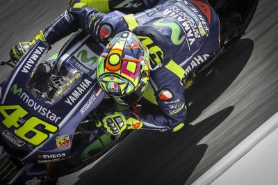 FP3 MotoGP™: Rossi mit Bestzeit