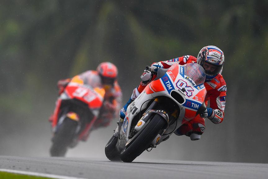 Andrea Dovizioso, Ducati Team, Marc Marquez, Repsol Honda Team, Shell Malaysia Motorcycle Grand Prix