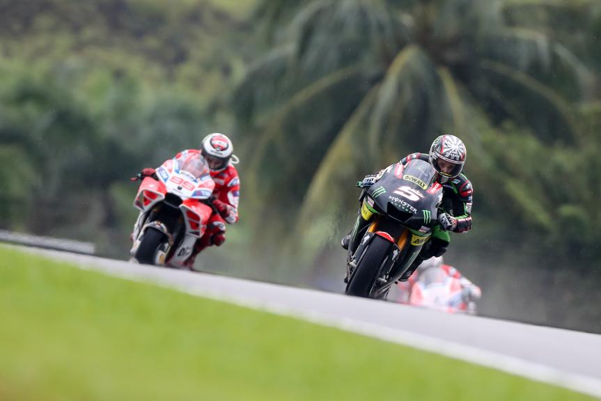 Johann Zarco, Monster Yamaha Tech 3, Jorge Lorenzo, Ducati Team, Shell Malaysia Motorcycle Grand Prix