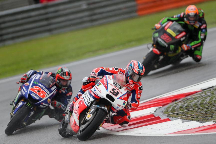 Danilo Petrucci, Octo Pramac Racing, Maverick Viñales, Movistar Yamaha MotoGP, Shell Malaysia Motorcycle Grand Prix