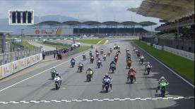 The full race session at the #MalaysianGP of the Moto3™ World Championship.
