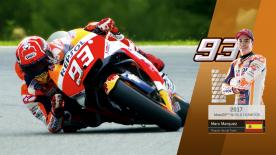 Repsol Honda's Marc Marquez claimed his sixth World Championship at the Circuito Ricardo Tormo