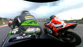 Enjoy the start of the MotoGP™ race from Johann Zarco's perspective at the Malaysian Grand Prix