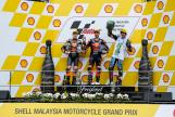 Miguel Oliveira, Brad Binder, Franco Morbidelli, Shell Malaysia Motorcycle Grand Prix