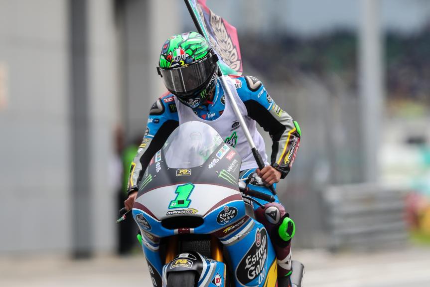 Franco Morbidelli, EG 0,0 Marc VDS, Shell Malaysia Motorcycle Grand Prix