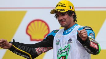 Franco Morbidelli, EG 0,0 Marc VDS 2017 Moto2 World Champion