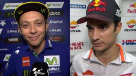 MotoGP™ riders give us feedback on their race results at the #MalaysianGP.