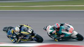 Some of the best overtaking moves from the Moto2 & Moto3 #MalaysianGP races.  1. Andrea Migno (Moto3) 129 points 2. Tetsuta Nagashima (Moto2) 107 points 3. Brad Binder (Moto2) 106 points 4. Hafizh Syahrin (Moto2) 95 points 5. Nakarin Atiratphuvapat (Moto3) 92 points