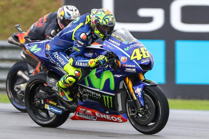 Valentino Rossi, Movistar Yamaha MotoGP, Pol Espargaro, Red Bull KTM Factory Racing, Shell Malaysia Motorcycle Grand Prix