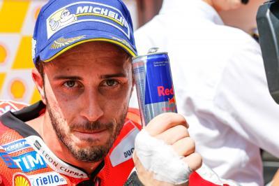 Dovizioso: « Nous avons un très bon rythme en pneus usés»