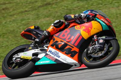 Binder dirige le warm-up Moto2™ en Malaisie