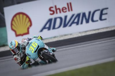 Mir s'adjuge aussi le warm-up Moto3™ à Sepang