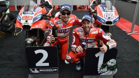 Ducati Corse General Manager Luigi Dall'Igna says that Ducati did a really great race at Malaysia
