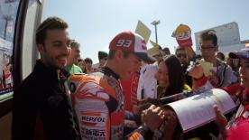 Meet the MotoGP™ fans, bringing colours and passion to all race tracks around the world