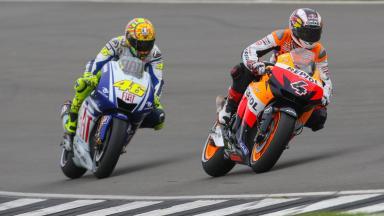 Donington Park 2009 - Resumen de la carrera de MotoGP