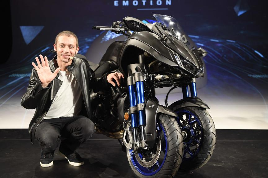 Yamaha Motor press conference Milan 6th November 2017 - EICMA