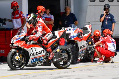 "Lorenzo on life in red: ""I'm still far from my limit"""