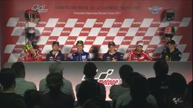 Everything you need to know from the official opening press conference at the #ValenciaGP.