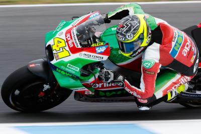 Aleix Espargaro torna in pista