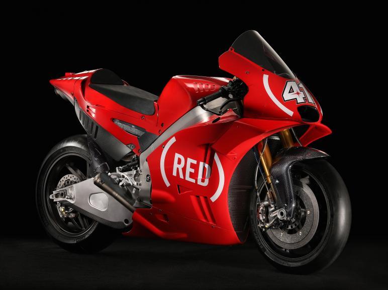 Aprilia - Red bike