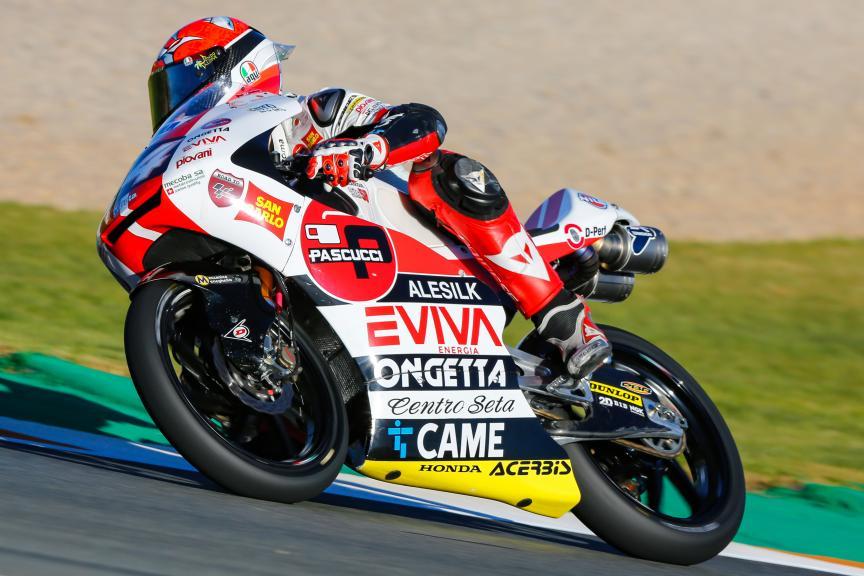 Tony Arbolino, SIC58 Squadra Corse, Gran Premio Motul de la Comunitat Valenciana