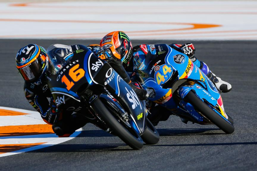 Andrea Migno, Sky Racing Team VR46, Gran Premio Motul de la Comunitat Valenciana
