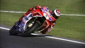 The Spaniard was the fastest on the opening day in Valencia, where title contenders Dovizioso and Marquez finished in 3rd and 6th