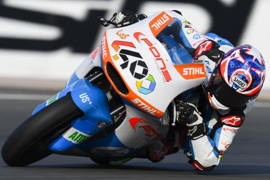 Fabio Quartararo, Pons HP40, Gran Premio Motul de la Comunitat Valenciana