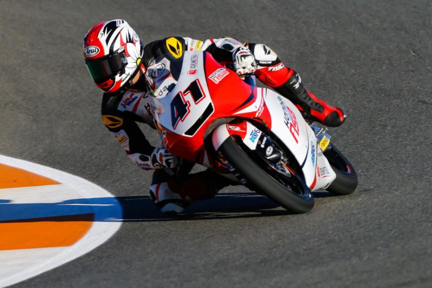 Nakarin Atiratphuvapat, Honda Team Asia, Gran Premio Motul de la Comunitat Valenciana